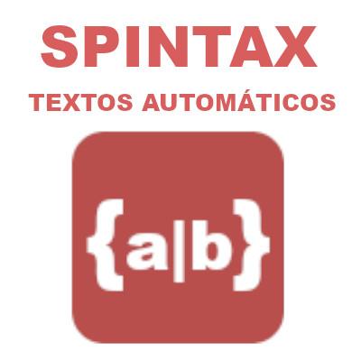 Curso de Spintax: Textos automáticos
