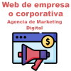 Web de empresa o corporativa: Agencia de marketing digital