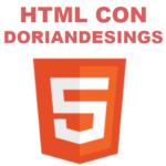 curso html con doriandesings
